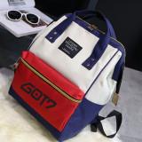 ALLKPOPER KPOP BTS Backpack EXO Cute Bag GOT7 Bookbag Student Back to School MONSTA X  SEVENTEEN 17 Bangtan Boys