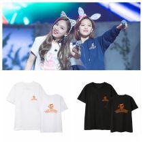 ALLKPOPER KPOP TWICE T-shirt One More Time Tshirt Twicetagram Letter Tee Lim Na Yeon MOMO