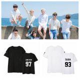 ALLKPOPER KPOP BTS T-shirt Bangtan Boys Concert TShirt Love Yourself Letter Tee JUNG KOOK