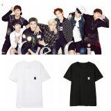 ALLKPOPER KPOP BTS T-shirt 2018 Season's Greetings TShirt Bangtan Boys Letter Tee JIMIN