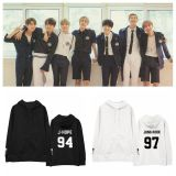 ALLKPOPER KPOP BTS Cap Hoodie Bangtan Boys Love Youeself Sweatershirt J-HOPE