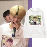 ALLKPOPER KPOP BTS Run Hoodie Bangtan Boys Pullover Love Yourself Sweater JUNG KOOK