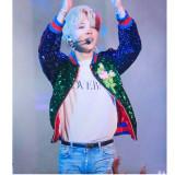 ALLKPOPER KPOP BTS JIMIN T-shirt Bangtan Boys Concert Tshirt Lovers Letter Tee