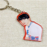 ALLKPOPER KPOP BTS Keyring Bangtan Boys Key Chain Love Yourself Acrylic Pendant SUGA V JIN