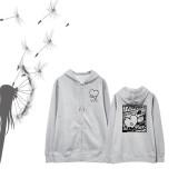 ALLKPOPER KPOP BTS V Zipper Sweater BT21 Bangtan Boys Pullover Casual Hoodie