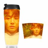 ALLKPOPER KPOP BTS Bottle Bangtan Boys Water Cup BT21 Love Yourself Drinking Bottle JIMIN