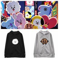 ALLKPOPER KPOP BTS BT21 Hoodie Bangtan Boys Sweater Love Yourself Casual Pullover Chimmy