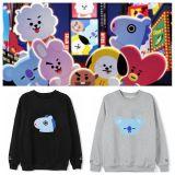 ALLKPOPER KPOP BTS BT21 Sweater Bangtan Boys Pullover Love Yourself Casual Sweatershirt
