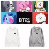 ALLKPOPER KPOP BTS BT21 Hoodie Bangtan Boys Sweater Love Yourself Casual Pullover RJ TATA