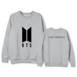 ALLKPOPER KPOP BTS Sweater Bangtan Boys Pullover Love Yourself Sweatershirt JIN V SUGA