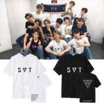 ALLKPOPER KPOP SEVENTEEN 17 T-shirt 2018 JAPAN ARENA SVT Concert Tshirt Casual Letter Tee