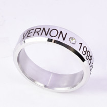 K-POP SEVENTEEN Ring DINO Finger Rings for Women MINGYU THE8 WOOZI VERNON DK New