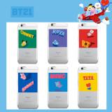 Kpop BTS Phone Case Bangtan Boys Korea Jungkook V Silicone Soft Clear TPU for Apple Iphone 8 7 PLUS X 10 7PLUS 8PLUS