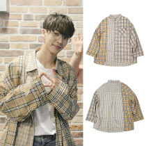 KPOP WANNA ONE Blouse 0+1=1 I PROMISE YOU Kang Daniel LAI KUAN LIN Shirt Tops