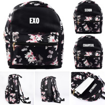 KPOP EXO Schoolbag KAI Sehun Satchel Shoulder Bag Baekhyun Chan Yeol Backpack
