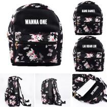 KPOP Wanna One Schoolbag Lai Kuan Lin Satchel Shoulder Bag Kang Daniel Backpack