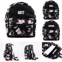 KPOP GOT7 Schoolbag Jackson Satchel Shoulder Bag Mark JR JB Backpack