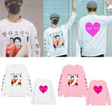 Kpop BTS JIMIN Sweater Love Yourself Answer Sweatershirt Pullover For A.R.M.Y