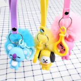 ALLKPOPER KPOP BTS Keychain V SUGA JIN J-HOPE Key Chain Pendant Accessories Keyring