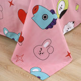 3Pcs/Set BTS Cute Pillow Case Quilt Cover Bedding Sheet JUNG KOOK JIMIN V NEW