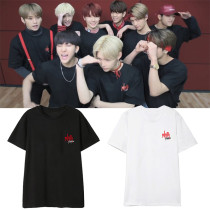 K-pop Stray Kids Hi-STAY Tour Tshirt  HYUNJIN CHANGBIN SEUNGMIN Tee Tops