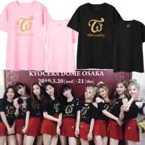 K-pop TWICE T-shirt Dreamday Concert Tshirt MOMO DAHYUN JIHYO TZUYU Tee Tops
