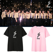 KPOP R1SE T-shirt VIN Tube Eric Same Short Sleeve Shirt  T-shirt Top