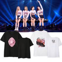 ALLKPOPER KPOP BLACKPINK T-shirt Concert Same short-sleeved Summer unisex loose O-neck top tee clothes