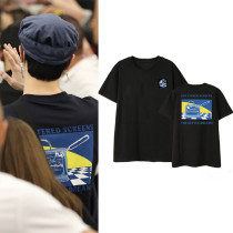 KPOP GOT7 T-shirt KIM Airport Private Clothing Short Sleeve shirt Tee
