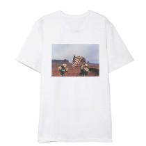 KPOP GOT 7 T-shirt  MARK Airport Private Clothing White Short Sleeve Tee