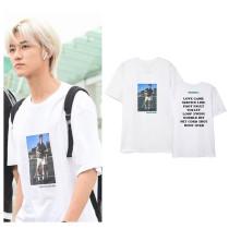 Kpop  NCT DREAM T-shirt JAEMIN same paragraph short sleeve,shirt ,JAEMIN
