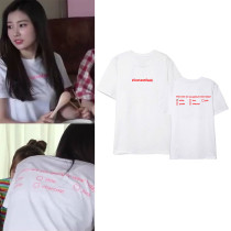 KPOP IZONE T-shirt fromis9 Hye Won the same style short sleeve T-shirt,shirt ,Hye Won