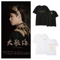 KPOP EXO T-shirt Lay tour concert Big Nautical the same style T-shirt ,shirt Tee
