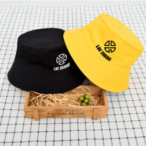 Kpop EXO hat Lay tour concert around the Great Navigation double-sided fisherman hat cap