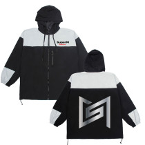 Kopo Super M windbreaker the same style jacket hooded jacket long casual KAI,LUCAS,MARK