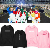 Kpop H.O.T. Sweater concert 2019 High five Of Teenagers surrounding the same paragraph hooded sweater