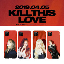 Kpop BLACKPINK mobile phone shell star pattern protective cover for Apple iphone11XSXR hard shell