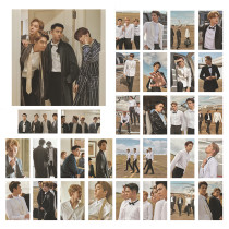 Kpop EXO Photo Card Hawaii Photo Card BAEKHYUN ,CHANYEOL,CHEN,DO,KAI,LAY Photo card