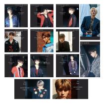 Kpop SEVENTEEN photo card combination AN ODE new album LOMO card homemade