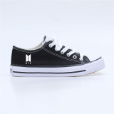 Kpop BTS Shoes Bangtan Boys Canvas Shoes  Student Female New Shoes
