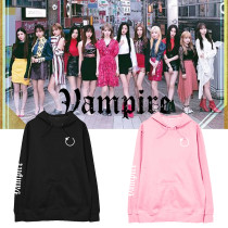 Kpop IZONE Sweater Album Vampire With The Same Sweater Sweater  Hooded Sweater