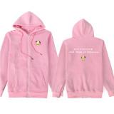 Kpop BTS Sweater Bangtan Boys Hoodie Cardigan Zipper Jacket New Korean Shirt COOKY KOYA TATA