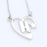 Kpop BTS Bangtan Boys Necklace Necklace Korean Wave Simple Love Logo Titanium Steel Necklace Accessories