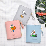 Kpop BTS wallet BT21 Halloween wallet cute cartoon pattern KOYA COOKY TATA