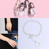 Kpop BLACKPINK 3rd Anniversary Official Surroundings Bracelet JENNIE JISOO LISA ROSE