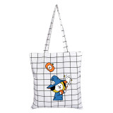 Kpop BTS Canvas Bag BT21 Halloween Canvas Bag Cute Cartoon Pattern CHIMMY COOKY TATA