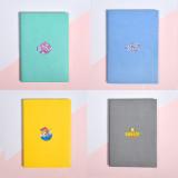 Kpop BTS Notebook Bangtan Boys Notebook Student Diary Candy Color Cute KOYA TATA COOKY