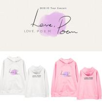 Kpop IU 11th Anniversary Concert Album Love Poem Same Model Sweatshirt Hooded Sweatshirt