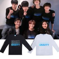 Kpop DAY6 Long Sleeve T-Shirt World Tour Concert GRAVITY Long Sleeve T-Shirt Korean Edition Loose Shirt