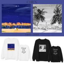 Kpop EXO Sweater CHEN Album Dear my dear Same section Sweatshirt Loose round neck Sweatshirt